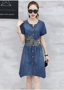 GSS5713 Denim-Dress*