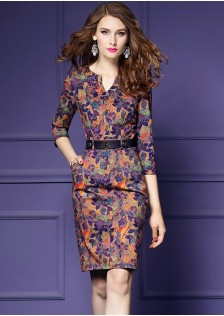 GSS7086 Office-Dress*