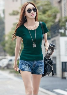 GSS2005 Casual-Top white,yellow,black,gray,pink,green $12.53 12XXXX5031840-BA4LV412-A