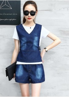 GSS5858 Denim-3pcs-Set*