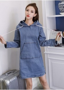 GSS9802 Denim-Sweater *