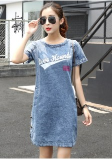 GSS6055 Denim-Dress *