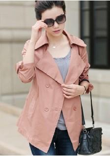 GSS0436 Casual-Jacket pink $22.31 56XXXX5625479-LA3LVC312-B
