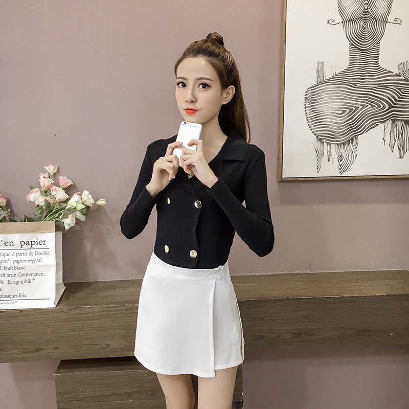 GSS951 Office-Blouse black,white,apricot,red $17.86 36XXXX6147496-SD3LV355-A