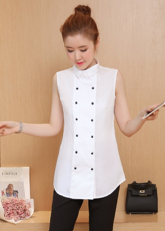 GSS8869 Casual-Blouse white $14.31 20XXXX4768113-SD5LV553-A