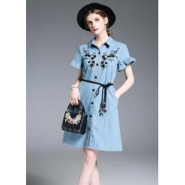GSS6251 Denim-Dress.***