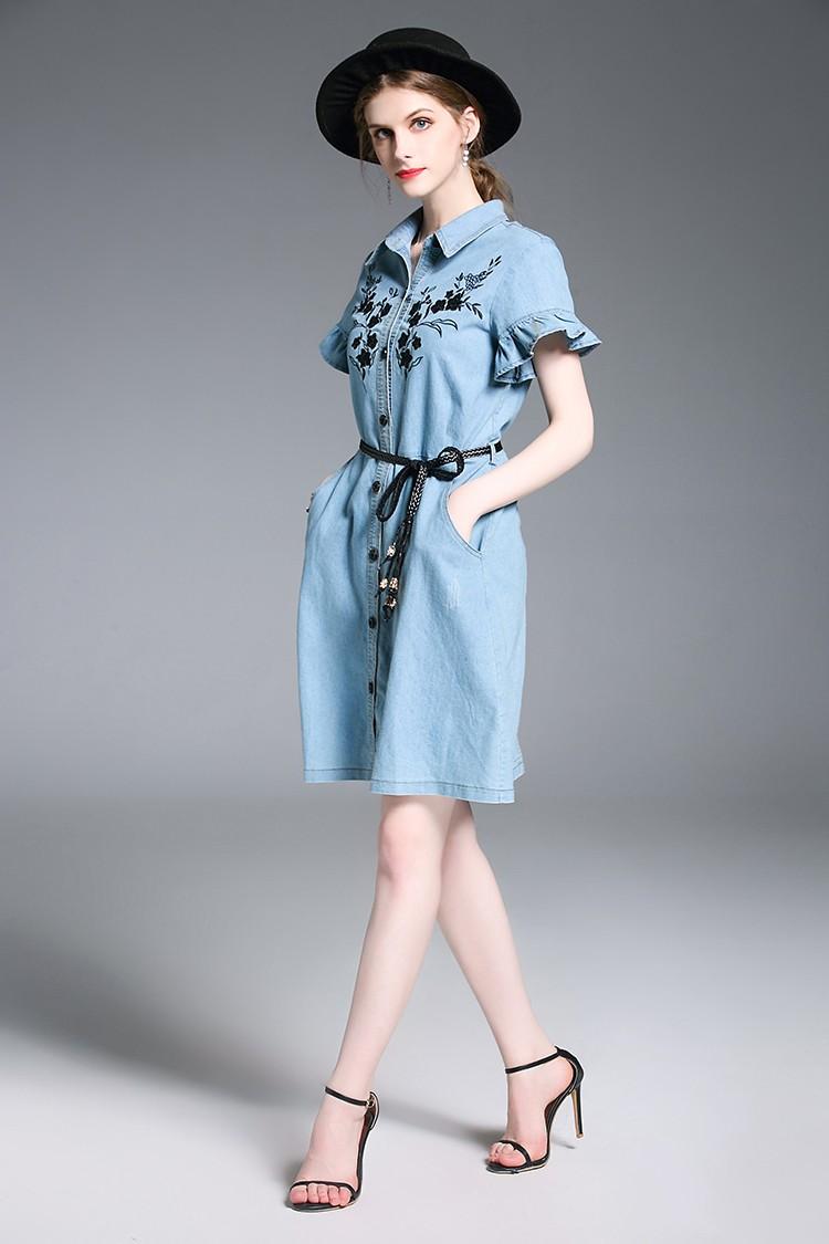 GSS6251 Denim-Dress *