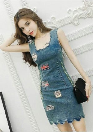 GSS1333 Denim-Dress .