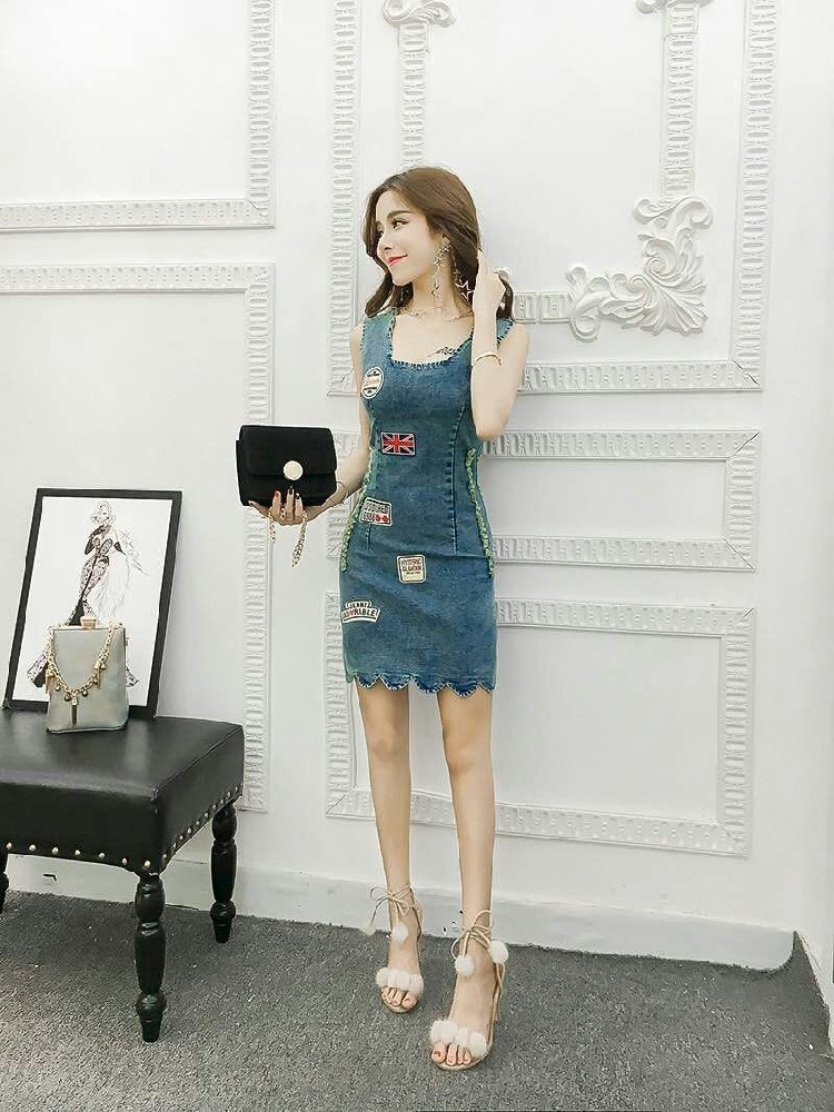 GSS1333 Denim-Dress *