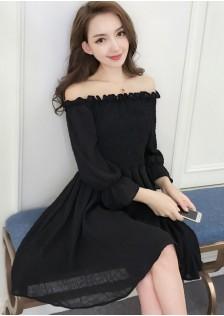 GSS6627 Off-Shoulder-Dress *