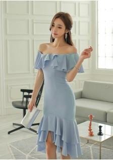 GSS561 Off-Shoulder-Dress *