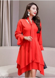 GSS6051 Office-Dress red,beige $22.75 58XXXX6232949-LA2LVA07-D