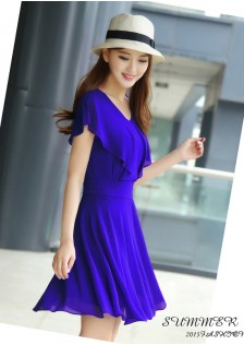 GSS8113 Casual-Dress blue,black,white $17.20 33XXXX4295556-JM5LVE088-A