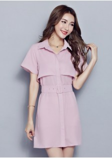 GSS3745 Casual-Dress pink,blue $20.53 48XXXX4595297-NU4LV420-H