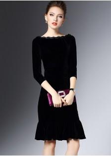 GSS8170 Off-Shoulder-Dress *