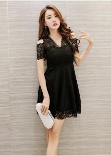 GSS1706 Off-Shoulder-Dress*