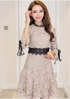 GSS7158 Premium-Dress apricot,red $23.74 62XXXX6722813-SD6LV639-A