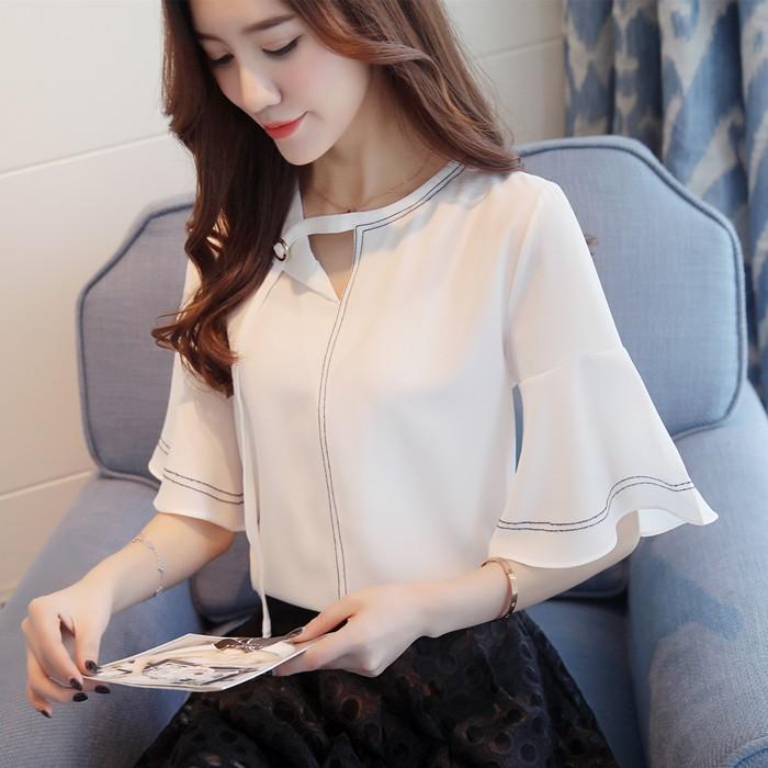 GSS857X Blouse white $14.30 33XXXX4854021-LA2LVE238-F