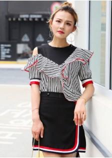 GSS0715X Top+Skirt*