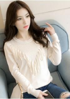 GSS6008 Blouse white,black,brown $14.30 33XXXX6174446-SD2LV252-B