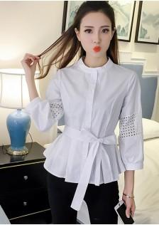 GSS591 Blouse white,black $14.96 34XXXX4210423-EX1LVA002-A