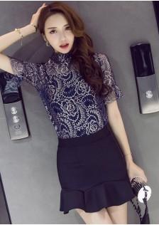 GSS5593X Top+Skirt .***