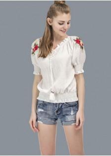 GSS201 Blouse white $12.74 26XXXX4699059-JM5LVE047-B
