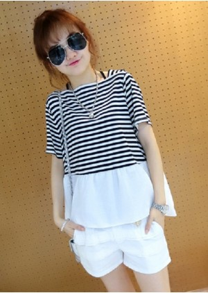 GSS1206X Top+Shorts *