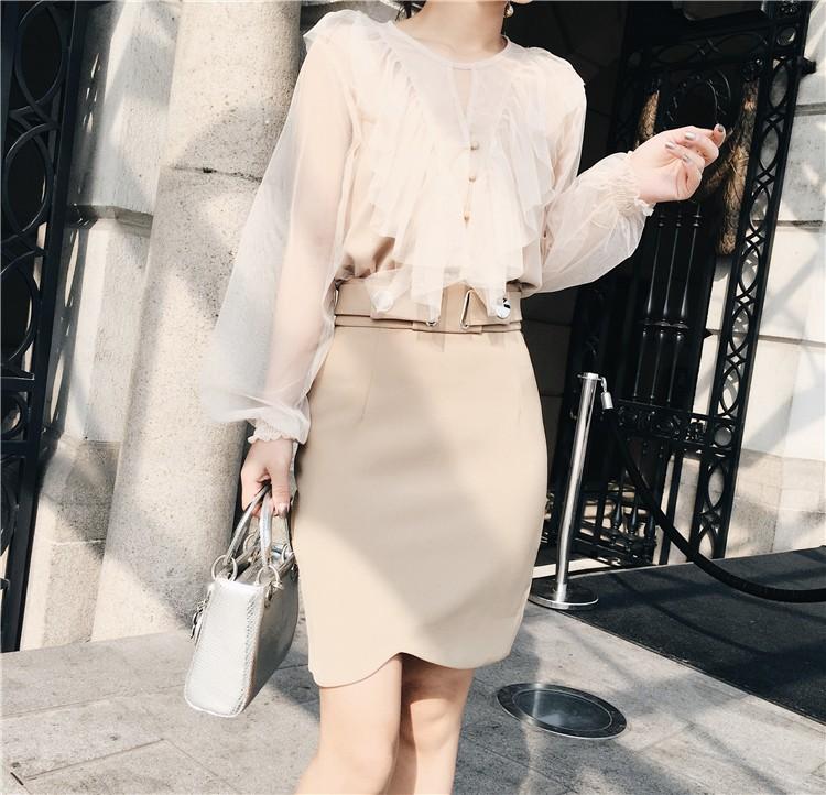 GSS8090 Skirt apricot $18.41 38XXXX4310109-LA3LVE312-A