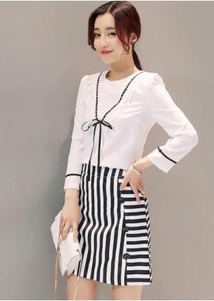 GSS6001X Top+Skirt .***