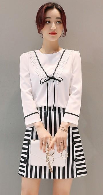GSS6001 Top+Skirt $22.19 55XXXX4355755-BY1LVA1016-A