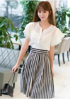 GSS8063X Top+Skirt*