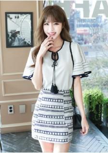 GSS8053X Top+Skirt *