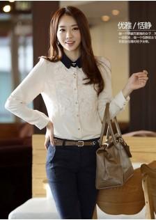 GSS322 Blouse white,black $15.30 24XXXX4514271-JM4LVD054