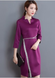 GSS6949 Dress purple,black,lake-blue $22.19 55XXXX6329372-LA2LVB40-E