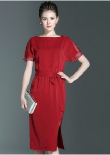 GSS6850 Dress*** red,green,black $24.41 65XXXX4790970-LA2LVA31-A