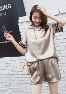 GSS9102X Top+Shorts*