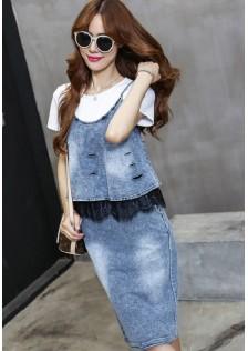 GSS2392X 3pcs-Top+Skirt*