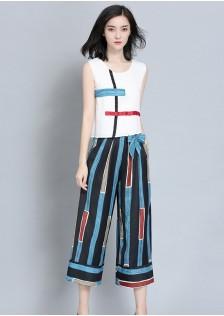GSSA203 Top+Pants blue,yellow $21.08 50XXXX5046364-LA4LVC403-C1