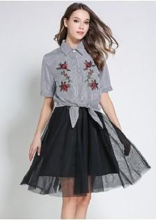 GSS6872X Top+Skirt*