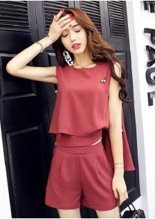 GSS6979X Top+Shorts *