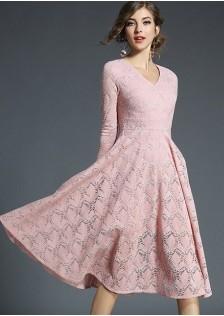 GSS8107 Dress pink,yellow,khaki $25.08 68XXXX6762499-LA6LV609