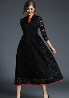 GSS6122 Dress red,black $25.08 68XXXX6770781-LA6LV609-A
