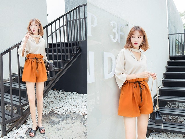 GSS9209X Top+Shorts *