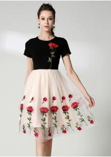 GSS6890 Dress apricot $25.08 68XXXX5470563-LA6LV613-A