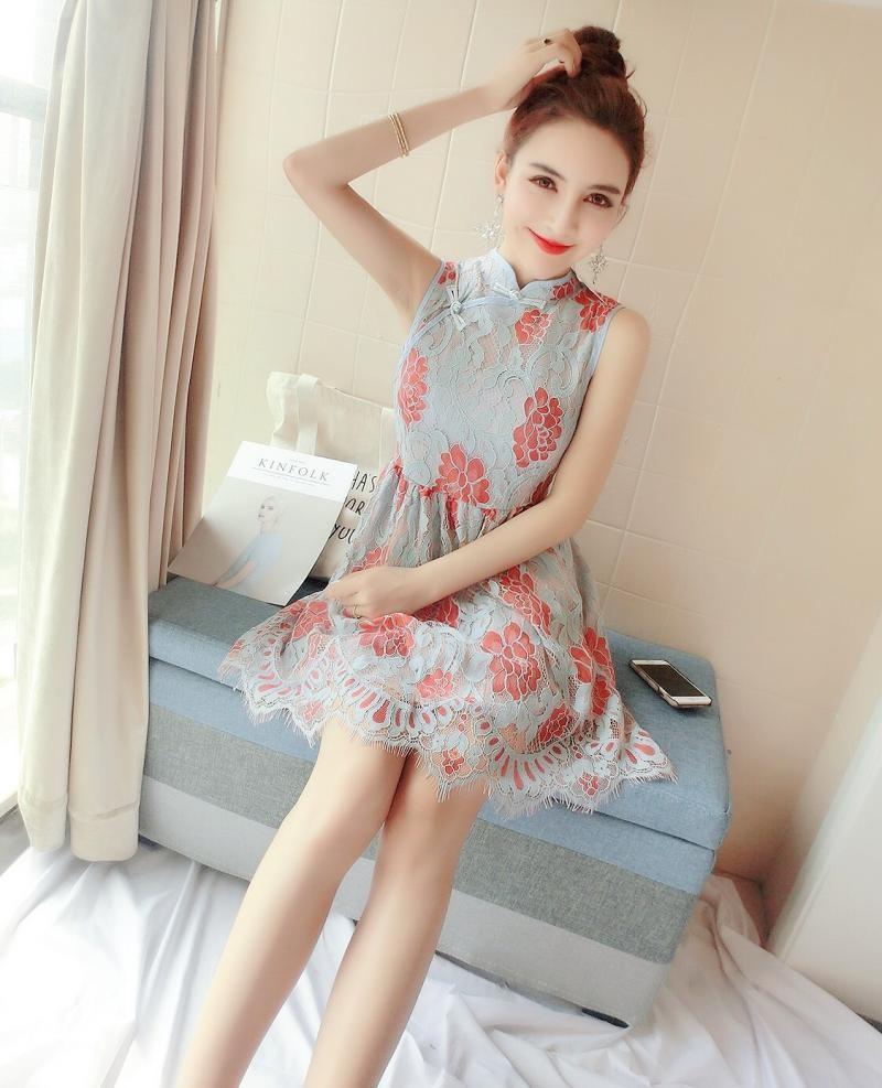 GSS1030 Cheongsam blue $23.08 59XXXX5498795-OH2LV230-B