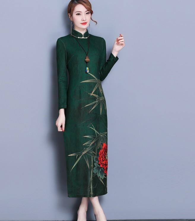 GSS9171 Cheongsam green $24.41 65XXXX7397701-LA2LVA45-F
