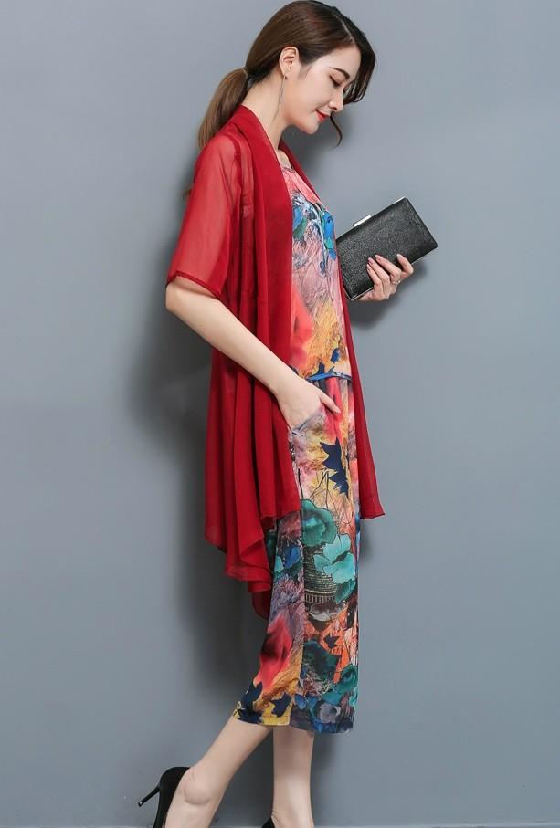 GSS1773 3pcs-Top+Pants red,khaki $22.85 58XXXX5492191-LA2LVB18-B
