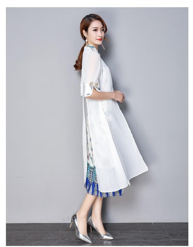 GSS3892 Cheongsam white,navy $22.85 58XXXX7403503-LA1LVE01