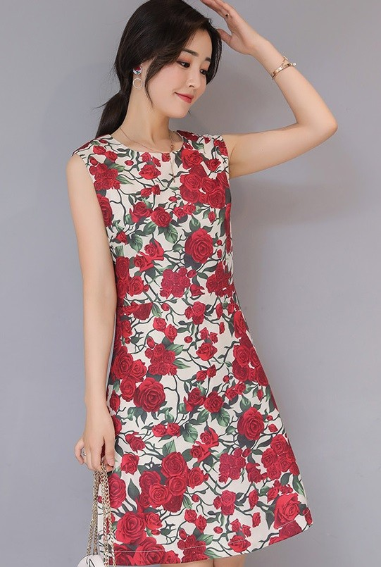 GSS6905 Dress red $20.63 48XXXX5524404-LA2LVA31-A